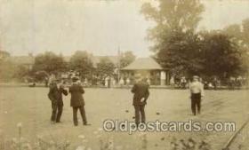 spo032061 - Lawn Bowling Postcard Postcards