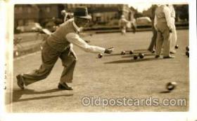 spo032064 - Lawn Bowling Postcard Postcards