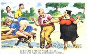 spo032115 - Lawn Bowling Artist Chaperon Jean Postcard Postcards
