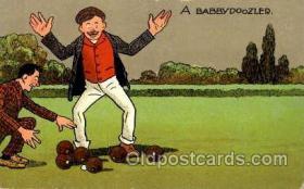 spo032123 - Lawn Bowling Postcard Postcards