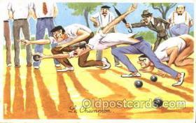 spo032124 - Lawn Bowling Postcard Postcards