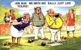 spo032126 - Lawn Bowling Postcard Postcards