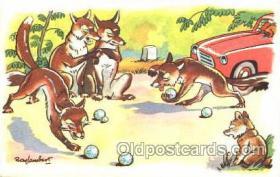 spo032127 - Lawn Bowling Postcard Postcards
