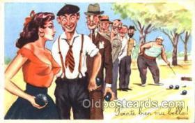 spo032128 - Lawn Bowling Postcard Postcards