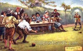spo032136 - Lawn Bowling Postcard Postcards