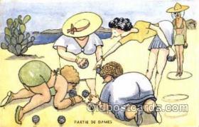 spo032137 - Lawn Bowling Postcard Postcards