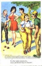 spo032139 - Lawn Bowling Chaperon Jean Postcard Postcards