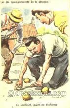 spo032148 - Lawn Bowling Postcard Postcards