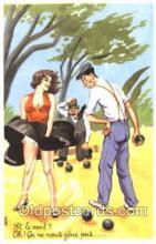 spo032150 - Lawn Bowling Postcard Postcards