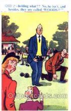 spo032156 - Lawn Bowling Postcard Postcards