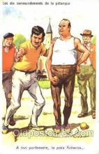 spo032158 - Lawn Bowling Postcard Postcards