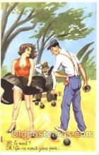 spo032161 - Lawn Bowling Postcard Postcards