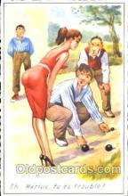 spo032165 - Lawn Bowling Postcard Postcards