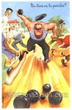 spo032166 - Lawn Bowling Postcard Postcards