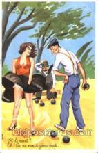 spo032167 - Lawn Bowling Postcard Postcards
