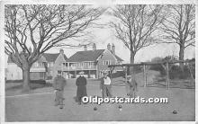 spo032190 - Old Vintage Lawn Bowling Postcard Post Card