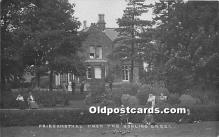 spo032195 - Old Vintage Lawn Bowling Postcard Post Card