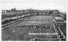 spo032197 - Old Vintage Lawn Bowling Postcard Post Card