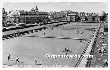 spo032202 - Old Vintage Lawn Bowling Postcard Post Card