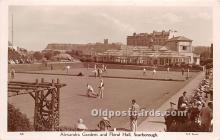 spo032203 - Old Vintage Lawn Bowling Postcard Post Card