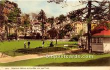 spo032208 - Old Vintage Lawn Bowling Postcard Post Card