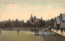 spo032217 - Old Vintage Lawn Bowling Postcard Post Card