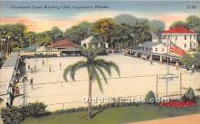 spo032220 - Old Vintage Lawn Bowling Postcard Post Card