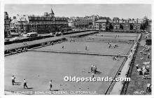 spo032226 - Old Vintage Lawn Bowling Postcard Post Card