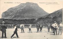 spo032228 - Old Vintage Lawn Bowling Postcard Post Card