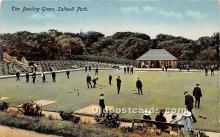 spo032229 - Old Vintage Lawn Bowling Postcard Post Card
