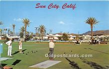 spo032232 - Old Vintage Lawn Bowling Postcard Post Card