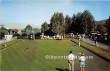 spo032233 - Old Vintage Lawn Bowling Postcard Post Card