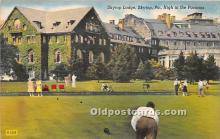 spo032234 - Old Vintage Lawn Bowling Postcard Post Card