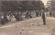 spo032236 - Old Vintage Lawn Bowling Postcard Post Card