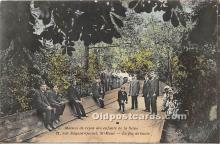 spo032237 - Old Vintage Lawn Bowling Postcard Post Card
