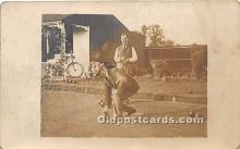 spo032238 - Old Vintage Lawn Bowling Postcard Post Card