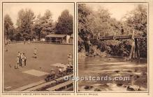 spo032240 - Old Vintage Lawn Bowling Postcard Post Card