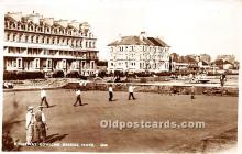 spo032246 - Old Vintage Lawn Bowling Postcard Post Card