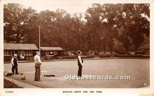 spo032253 - Old Vintage Lawn Bowling Postcard Post Card