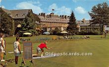spo032255 - Old Vintage Lawn Bowling Postcard Post Card