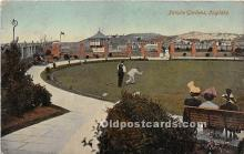 spo032256 - Old Vintage Lawn Bowling Postcard Post Card