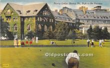 spo032257 - Old Vintage Lawn Bowling Postcard Post Card