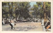 spo032260 - Old Vintage Lawn Bowling Postcard Post Card
