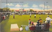 spo032261 - Old Vintage Lawn Bowling Postcard Post Card