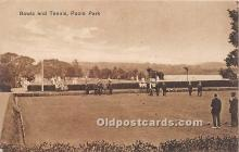 spo032274 - Old Vintage Lawn Bowling Postcard Post Card