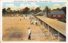 spo032283 - Old Vintage Lawn Bowling Postcard Post Card