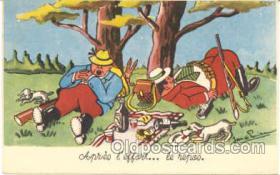 spo033052 - Hunting Postcard Postcards