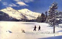 spo033098 - Donner Lake, Sierras, Reno NV, Sports, Gun, Rifle, Hunting Postcard Postcards