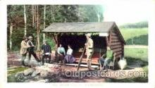spo033100 - Adirondacks, Sports, Gun, Rifle, Hunting Postcard Postcards