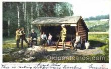 spo033105 - Adirondacks, Sports, Gun, Rifle, Hunting Postcard Postcards